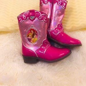 Disney Pink Boots